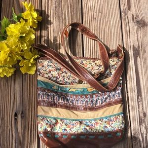 Loose style crossbody bag